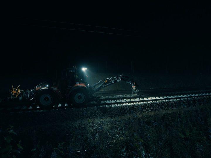 Ny Huddig 1260D Rail